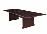 """96"""" Rectangular Conference Table with Data/ Power Port - ROF-TVCTRC9648-MH"""