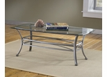 Abbington Rectangle Coffee Table with Glass Top - Hillsdale Furniture - 4885OTC