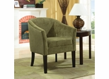 Accent Chair with Pistachio Microvelvet Upholstery - 902042