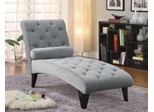 Accent Seating Velour Tufted Chaise - 550067