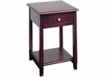 Accent Table in Merlot - Office Star - ME17