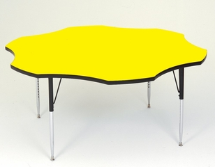 """Activity Table - Flower Shape 60"""" - Correll Office Furniture - A60-FLR"""