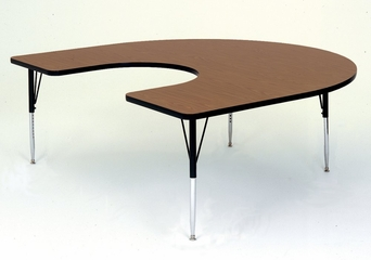 """Activity Table - Horseshoe 60"""" x 66"""" - Correll Office Furniture - A6066-HOR"""