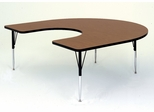 "Activity Table - Horseshoe 60"" x 66"" - Correll Office Furniture - A6066-HOR"