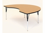 "Activity Table - Kidney Shaped 48"" x 96"" - Correll Office Furniture - A4896-KID"