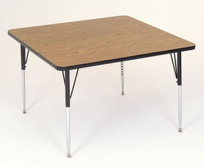 """Activity Table - Square 48"""" x 48"""" - Correll Office Furniture - A4848-SQ"""