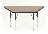 "Activity Table - Trapezoid 24"" x 24"" x 48"" - Correll Office Furniture - A2448-TRP"