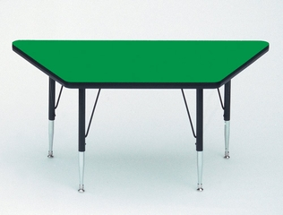 """Activity Table - Trapezoid 30"""" x 30"""" x 60"""" - Correll Office Furniture - A3060-TRP"""