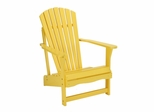 Adirondack Chair in Yellow - C-51903