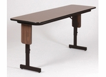 Adjustable Height Panel Leg Seminar Table 18x72 - Correll Office Furniture - SPA1872PX
