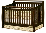 AFG Baby Amy Convertible Crib with Toddler Rail Espresso
