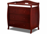 AFG Baby Grace 3 Drawer Changer Cherry