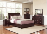 Albright Queen Bed in Cherry - 202651Q