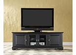 "Alexandria 60"" Low Profile TV Stand in Black - CROSLEY-KF10005ABK"