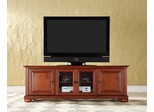 "Alexandria 60"" Low Profile TV Stand in Classic Cherry - CROSLEY-KF10005ACH"