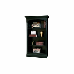 Alexandria Small Antique Black Bookcase by Ty Pennington - Howard Miller
