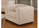 Alexis Almond Chair with Track Arms - 504393
