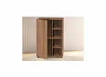 Alizee Storage Cabinet - 1 Door, 3 Open Shelves - Nexera Furniture