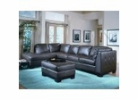 All Leather Sofa Sectional Set in Brown - 8-Way-Hand-Tied - 9958BR-SET