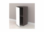 "Allure 36"" Tall Storage Cabinet with 1 Door - Nexera Furniture"