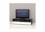 Allure 60'' TV Stand - 2 Open Shelves, 2 Drawers - Nexera Furniture