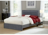 Amber Queen Size Fabric Bed - Hillsdale Furniture - 1638BQRA