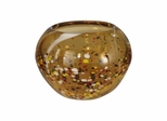 Amber Speckle Round Bowl - Dale Tiffany