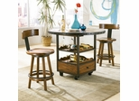 American Drew Americana Home 3PC High Dining Table Set - 114-706R