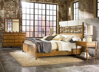 American Drew Americana Home 5PC Queen Bedroom Set - 114-323R