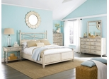 American Drew Americana Home 5PC Queen Bedroom Set - Weathered White - 114-323WR