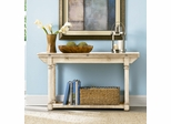 American Drew Americana Home Flip Top Console in Weathered White - 114-925W