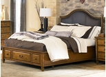 American Drew Americana Home Queen Leather Bed - 114-353R