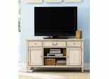 "American Drew Americana Home Weathered White 54"" Entertainment Unit  - 114-581W"