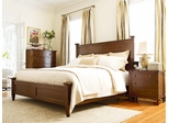 American Drew Miller's Creek Fairmont Queen Bed with Chest and Nightstand - 210-313R