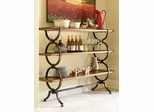 American Drew New River Etagere with 3 Shelves - 204-939