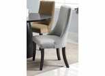 Amhurst Dining Chair (Set of 2) in Gray - Coaster - 101594-SET