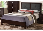 Andreas Bed with Padded Headboard - 202471Q