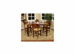 Andria 5pc Counter Height Table Set - American Hertiage - AH-713426