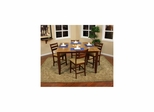 Andria 5pc Table Set with Salma Stools - American Hertiage - AH-713660