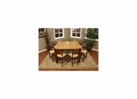 Andria 9pc Counter Height Table Set - American Hertiage - AH-713100