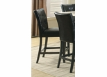 Anisa Black Counter Height Stool - Set of 2 - 102779
