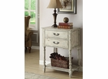 Antique Ivory Cabinet with 2 Drawers - 950231