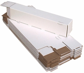 AOS MAILSTOR25-5 Self Locking Mailer and Storage Solution - 25/Pack