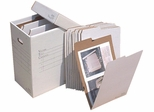 AOS VFILE19 Vertical Flat Storage with 10 VFolder19