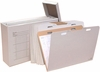 AOS VFILE37 Vertical Flat Storage with 8 VFolder37