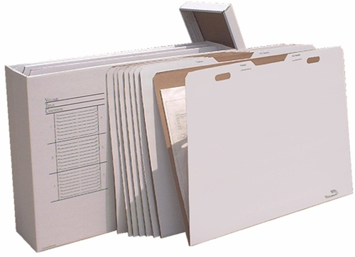 AOS VFILE43 Vertical Flat Storage with 8 VFolder43