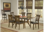 Arbor Hill 7-Piece Dining Set in Colonial Chestnut - Hillsdale Furniture - 4232DTBC7