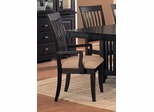 Arm Chair (Set of 2) in Cappuccino - Coaster