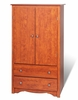 Armoire in Cherry - Monterey Collection - Prepac Furniture - CDC-3359