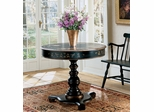 Artists Original Regal Black Hand-Painted Accent Table